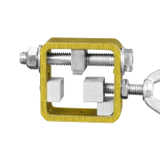 Small tool with clamping block shim